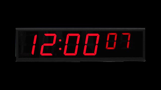 Reloj digital NTP
