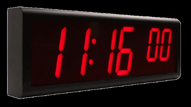 Relojes de pared digitales NTP